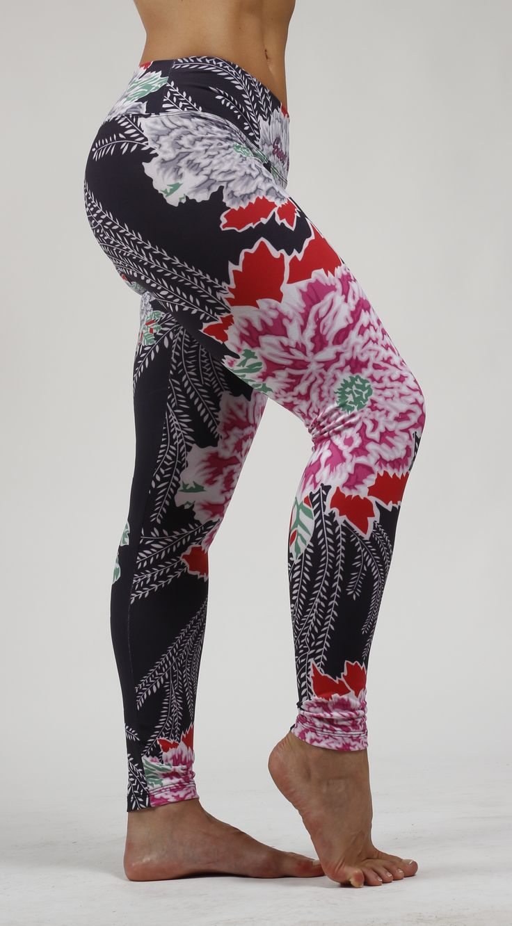 Leggins Flores Sweet Sweat