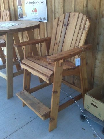 Tall Adirondack Bar Chair Plans Woodworking Projects Amp Plans