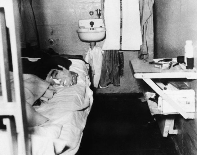 The great escape from Alcatraz marked its 50th anniversary on June 12, 2012. Five decades earlier, John and Clarence Anglin and Frank Morris disappeared from the high security prison. Though they were said to have drowned in the San Francisco Bay, their bodies were never found. Here, a picture released by the prison shows the dummy head (l.) that was used by John Anglin to fool prison guards into thinking he was in bed.