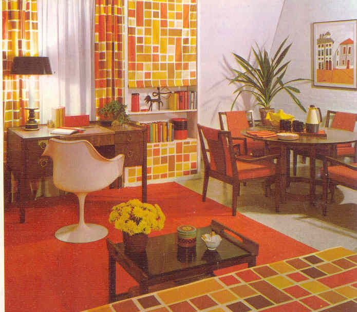 A room from the 70's