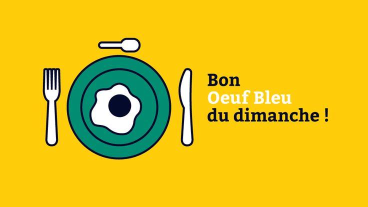 """""""Bon oeuf bleu du dimanche !"""""""