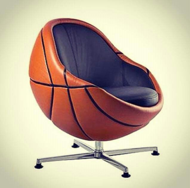 Basketball Chair Pooder Room Nba Pinterest Basketball And Chairs