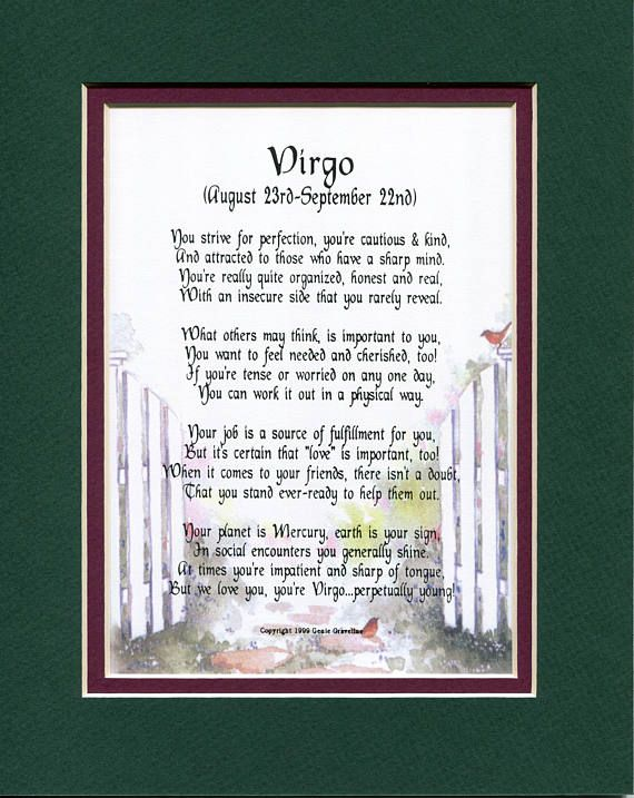 Virgo Virgo Poem Virgo Print Virgo Verse Horoscope Poems Etsy In 2021 Doctor Appreciation Gifts Doctor Gifts Retirement Gifts