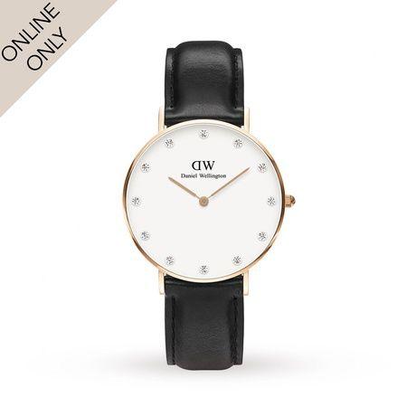 Ladies Watches - Daniel Wellington Ladies Classy Sheffield 34mm Rose Gold Watch - 0951DW