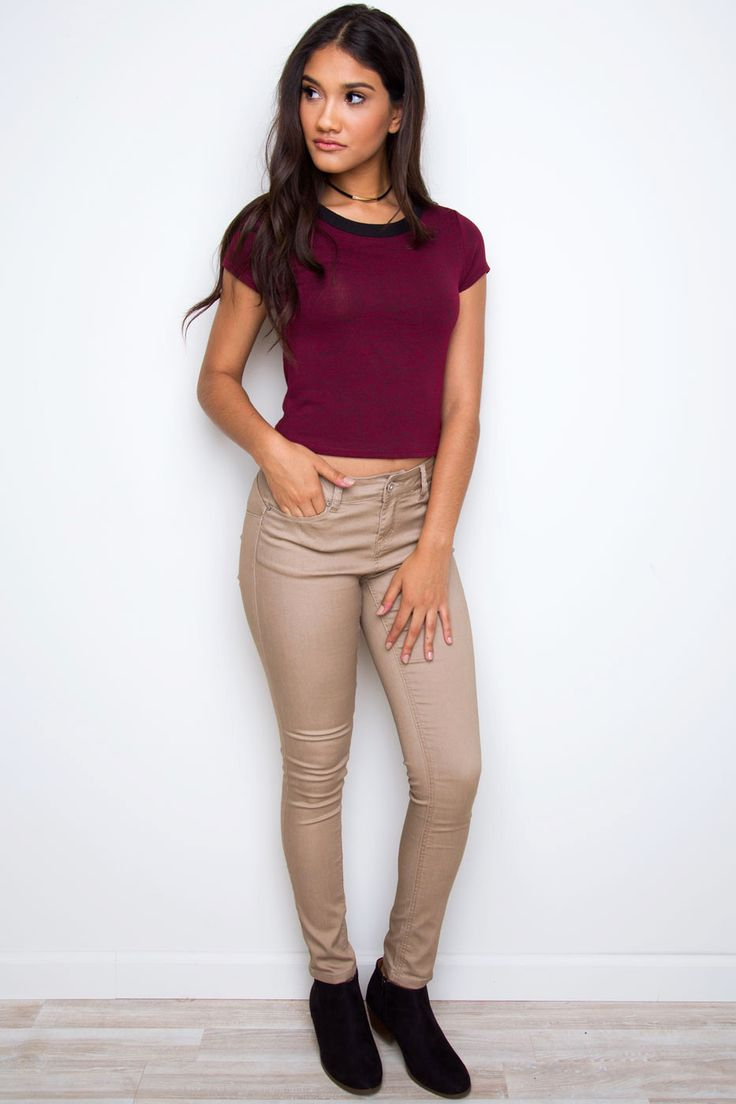 Insider Skinny Lifter Jeans - Khaki