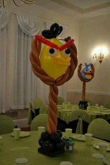 Ballon angry birds