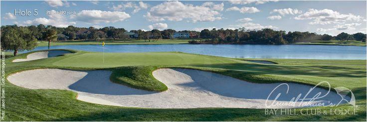 Bay Hill Golf Course - Hole #5, Orlando, Florida