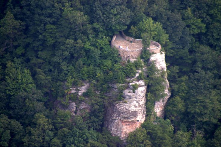 The Pinnacle, Cumberland Gap, Tennessee, where you are in Tennessee, Virginia, and Kentucky all at once.