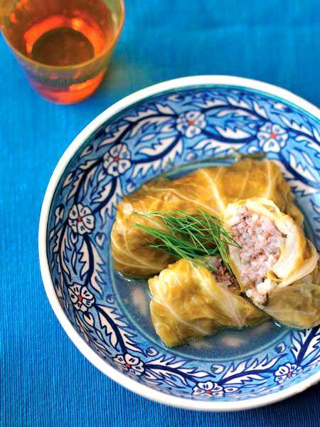 キャベツのゆで汁も使う、エコ料理。|『ELLE a table』はおしゃれで簡単なレシピが満載!