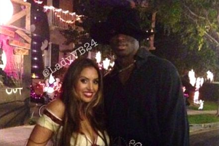 Kobe Bryant and Wife Dress as Zorro and Elena for Halloween