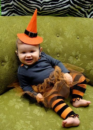 DIY Halloween DIY Costumes :DIY Baby Girls Halloween Costumes: DIY Snapsuit Baby Costumes . Craft Apparent with Vickie Howell
