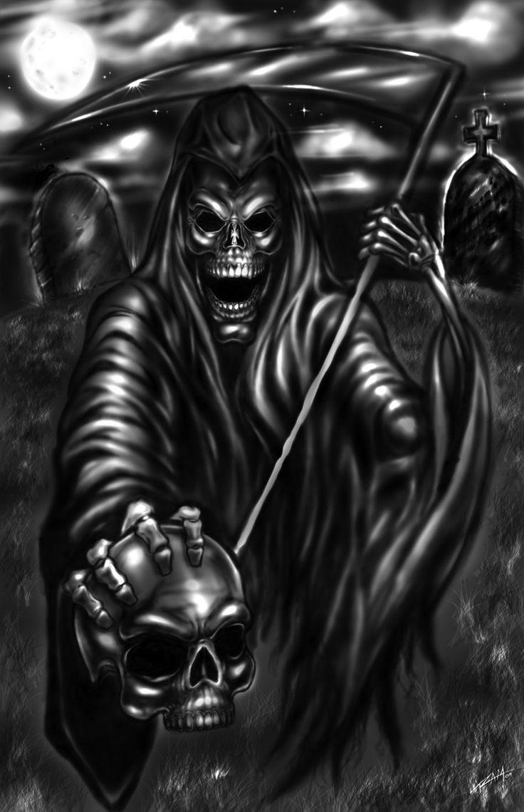 Grim Reaper By Ramstudios1 Deviantart Com On Deviantart