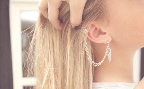 : Fashion, Style, Ear Cuffs, Ears, Piercings, Accessories, Earrings