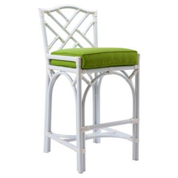 Check out this item at One Kings Lane! Chippendale Outdoor Stool