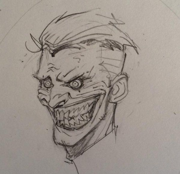 greg capullo joker sketch - Google Search