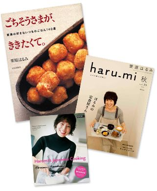 """The """"Martha Stewart"""" of Japan. Love her cookbooks - simple, delicious meals!"""