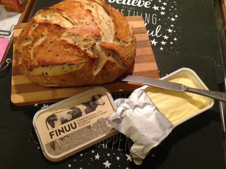 Nic nie smakuje tak dobrze, jak FINUU rozsmarowane na świeżo upieczonym, domowym chlebie. #finuu #finuupl #chleb #Pieczywo #przepis #Inspiracje #sniadanie #kanapki #sandwich #bread #breakfast #food #inspiration #recipe #finland