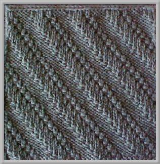 Free Knitting Pattern - Dishclothes & Washcloths : Wheatfields Dishcloth
