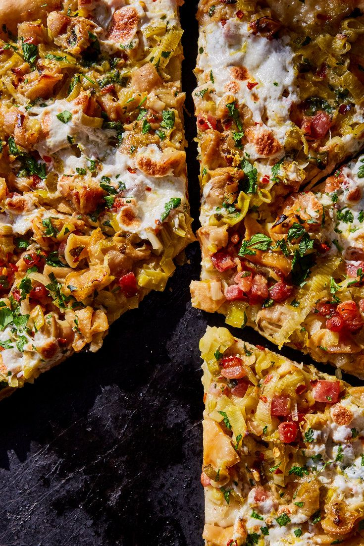 NYT Cooking: The clam pizza is thought to have been born in New Haven at Frank Pepe Pizzeria Napoletana, in the middle of the last century, and has since made its way south to New York City. My recipe honors no one particular preparation but does pay homage to the clam pan roasts of the Grand Central Oyster Bar. It uses as sauce the building blocks of a classic clam chowd...