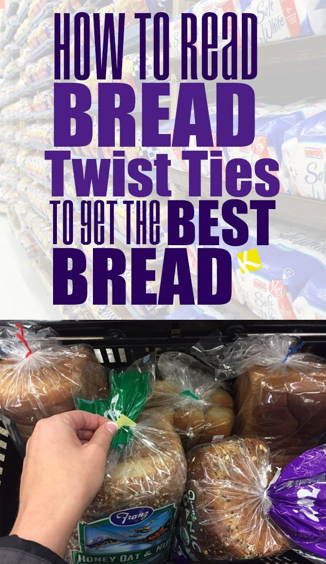 How to Read Bread Twist Ties to Get the Best Bread