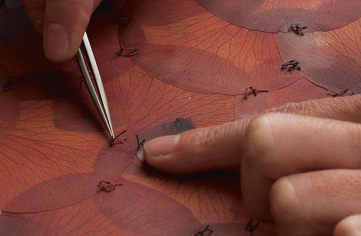 Doris Salcedo - A Flor de Piel - Process Detail