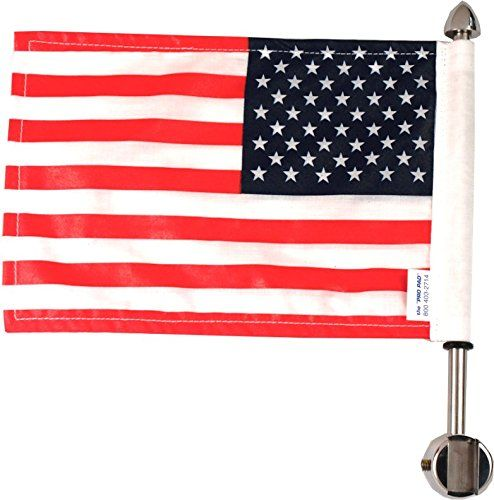 "Best price on Pro Pad Square Sissy Bar Motorcycle Flag Mount with 9"" Pole and 6"" x 9"" USA Flag, Fits 1/2"" Vertical Square Bar //   See details here: http://bestmotorbikereviews.com/product/pro-pad-square-sissy-bar-motorcycle-flag-mount-with-9-pole-and-6-x-9-usa-flag-fits-12-vertical-square-bar/ //  Truly a bargain for the inexpensive Pro Pad Square Sissy Bar Motorcycle Flag Mount with 9"" Pole and 6"" x 9"" USA Flag, Fits 1/2"" Vertical Square Bar //  Check out at this low cost item, read…"