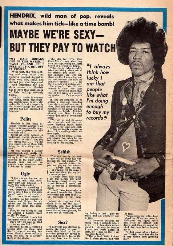 Are You Experienced? #hendrix