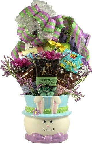 100 best gifts baskets images on pinterest easter gift baskets for somebunny special easter gift with ceramic holiday adds negle Choice Image