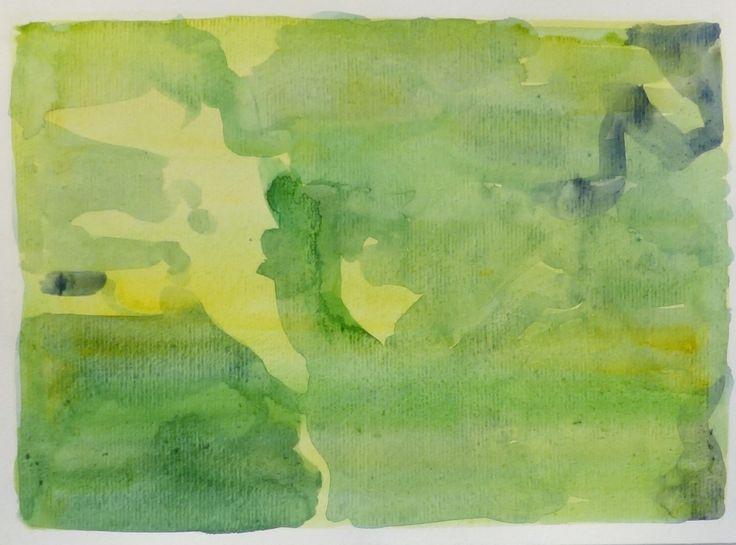 Bo Ljungcrantz, akvarell, 19x29cm