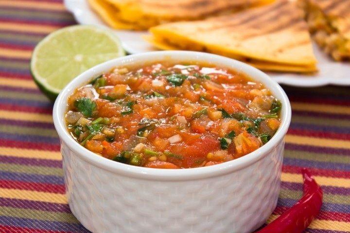 Salsa saus recept