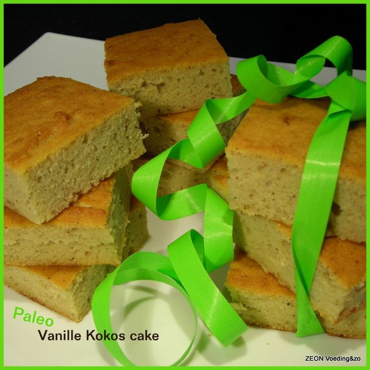 Paleo Vanille Kokos cake
