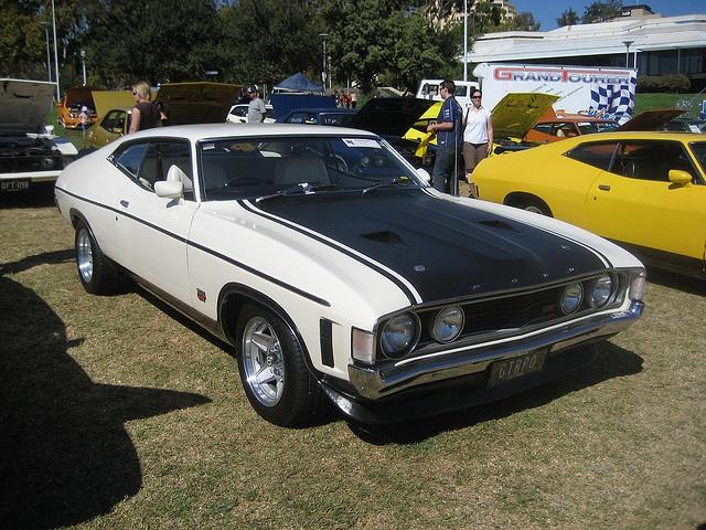 1972 Ford Falcon XA GT Hardtop Polar White by Sicnag, via Flickr