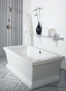 For Loft collection By Michael S Smith For KALLISTA transitional-bathtubs