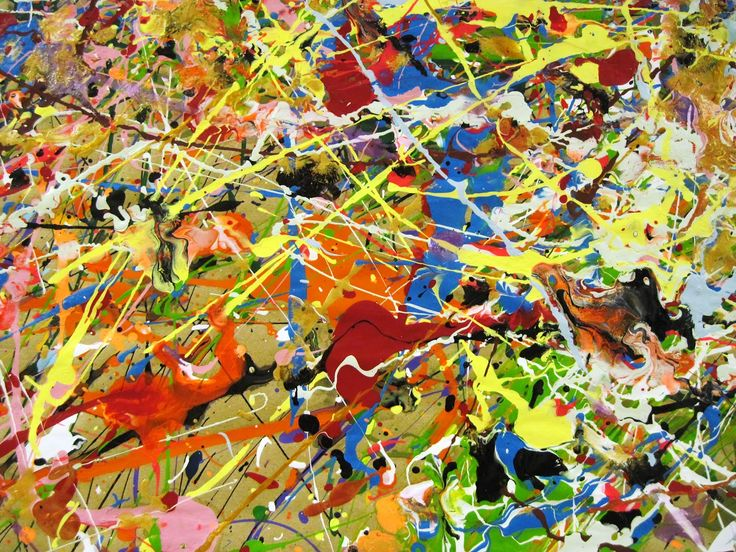 There's a Dragon in My Art Room - Jackson Pollock