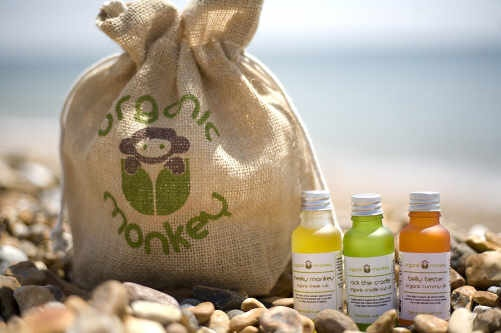 Organic Monkey - The first fair-trade certified line of skincare products for babies and toddlers! http://www.organicmonkey.co.uk/