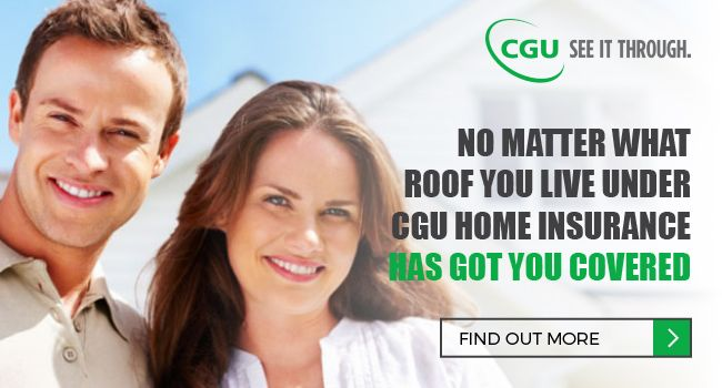 Buying or renting your first home? Or, had the kids move out and have the house to yourselves? Wherever you're at in life, CGU offers more choice for home insurance. With our range of options you will be able to choose the right cover for your needs.