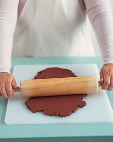 We make then every year! - Cinnamon Ornament Dough ~ Prepare dough: in a medium bowl, mix together 1 cup ground cinnamon and 1/4 cup applesauce using a rubber spatula.  Stir in 1/2 cup craft glue. Stir the dough until consistency is smooth and dry. Let stand 1 hour. Applesauce gives the dough pliability, glue makes it firm, and cinnamon imparts a lovely fragrance and a gingerbread color