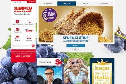 Simply Market lancia il nuovo sito internet