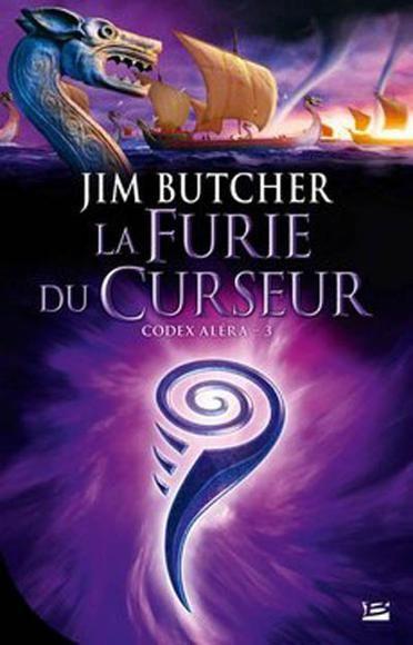 Codex Aléra, La furie du curseur (tome 3) de Jim Butcher