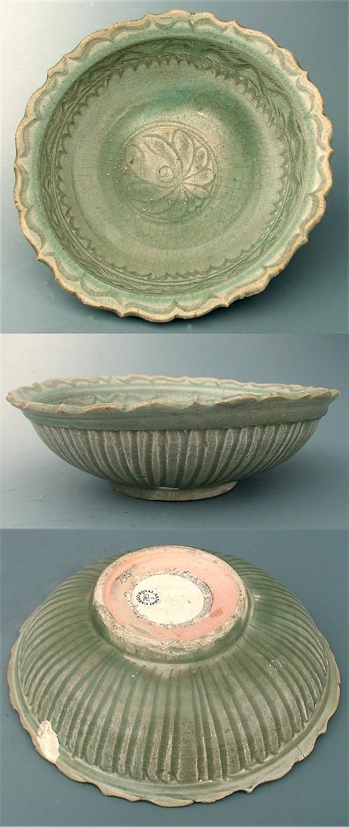 Old Celedon Charger from Thailand. & 1221 best Sukhothai celadon - Thai images on Pinterest | Thailand ...