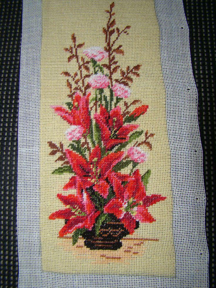 Ikebana with lilies