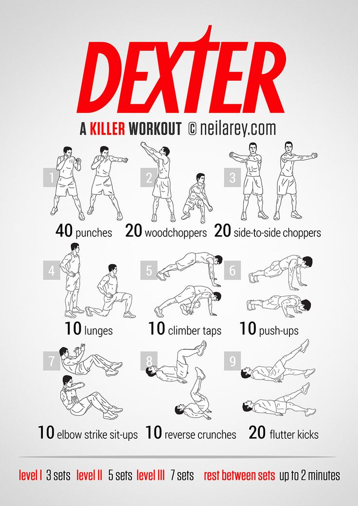 03.09.2014 - Dexter Workout by Neila Rey