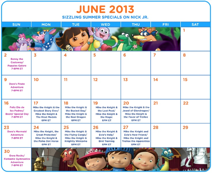 Celebrate summer with Nick Jr. TV premieres! Full schedule: http://at.nick.com/19ZnbiX