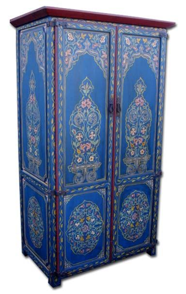 Morrocan TV Armoire......gorgeous!!