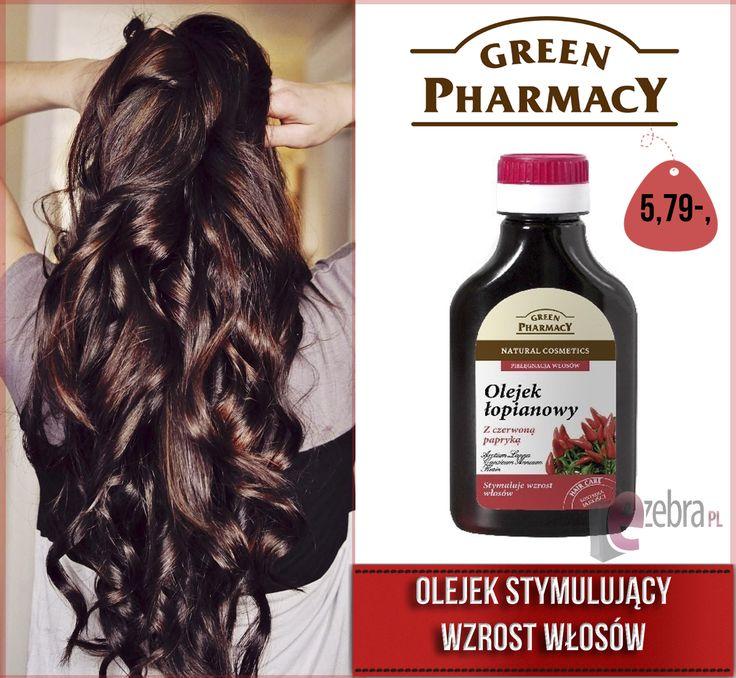 http://ezebra.pl  #włosy #beautyhair #hairstyle #olejekdowłosów #olejowaniewłosów #olejowanie #greenpharmacy #ezebrapl #kosmetyki #pielegnacja