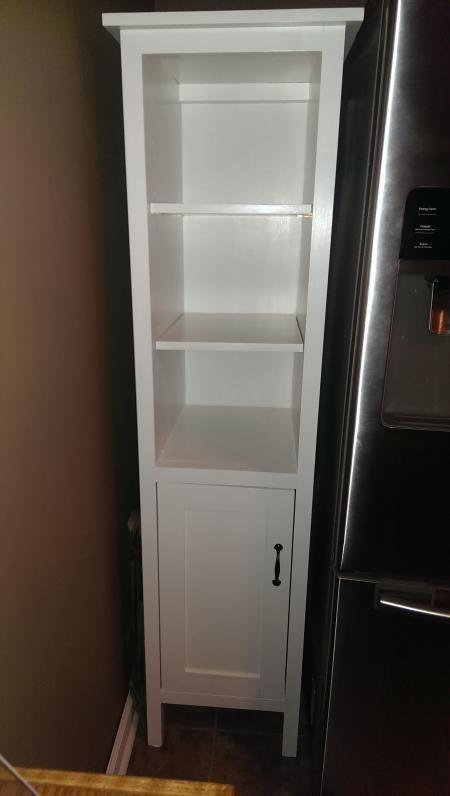 storage cabinet diy bathroom