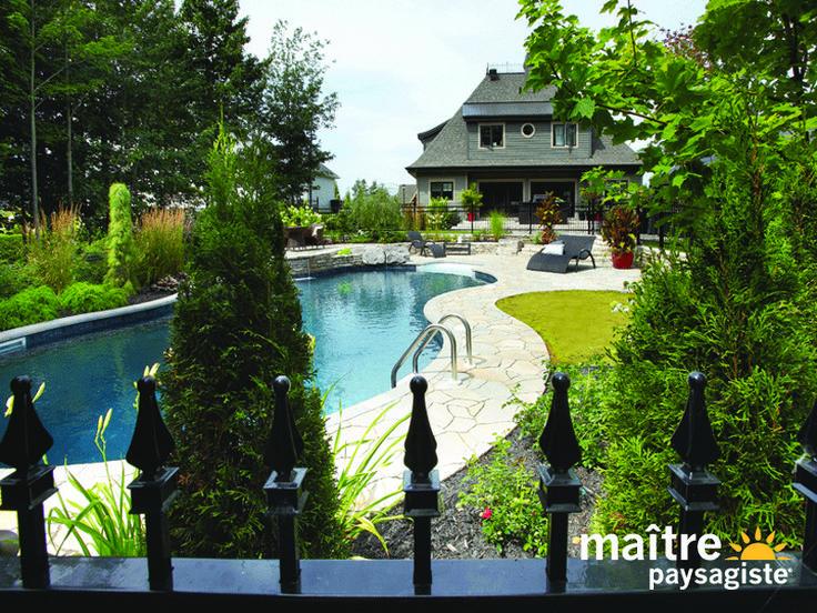 36 best Piscine images on Pinterest Pools, Swimming pools and - amenagement bord de piscine