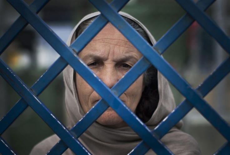 """Fauzia is the oldest woman in the jail and has already served seven years. She will serve a 17 year sentence for killing her husband and her daughter-in-law. """"I was in one room. I came into the next room and they were there having sexual relations. I found a big knife and killed them both,"""" she said in a voice empty of emotion."""