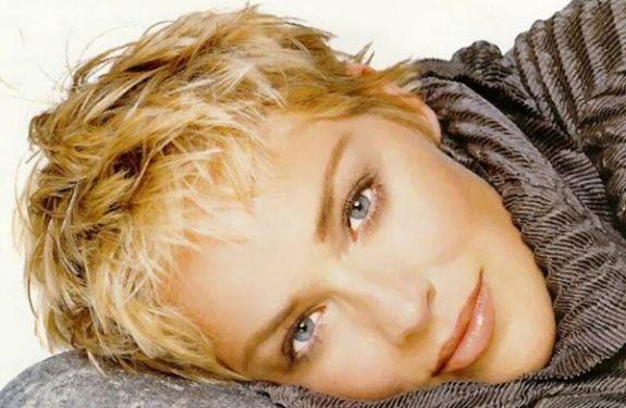 Sharon Stone short hair                                                                                                                                                                                 More