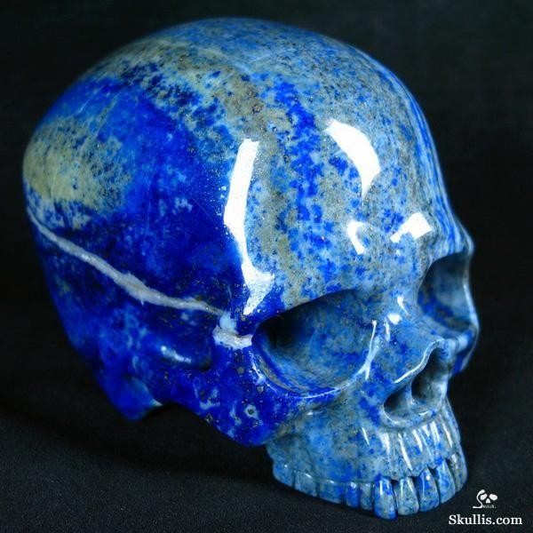 Lapis Lazuli Crystal Skull